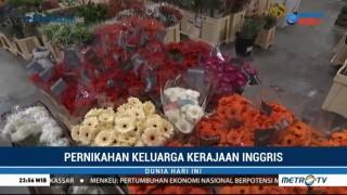 New Covent Garden Market Sediakan Bunga untuk Pernikahan Pangeran Harry