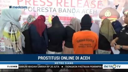 Polresta Banda Aceh Ungkap Bisnis Prostitusi <i>Online</i>