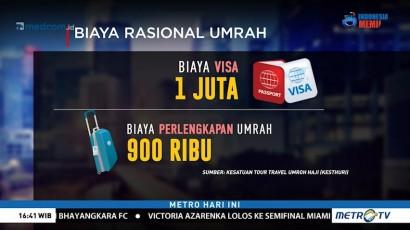 Angka Rasional Tarif Umrah
