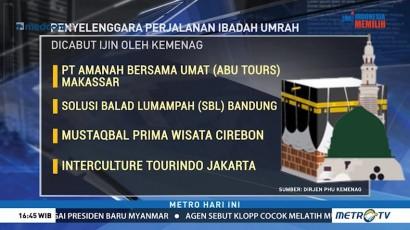 Kemenag Cabut Izin 4 Biro Umrah Termasuk Abu Tours