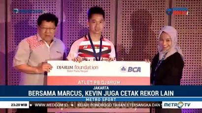 Kevin Sanjaya Diguyur Bonus Rp250 Juta