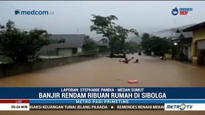 Longsor dan Banjir di Sibolga Tewaskan Tiga Orang
