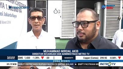 Metro TV Dapat Tambahan Daya Listrik 1,5 Juta VA