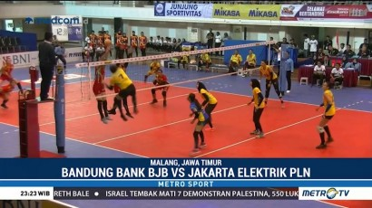 Bandung BJB Menang 3-1 atas Jakarta Elektrik PLN