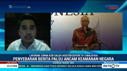 Malaysia Godok UU Anti Berita Bohong