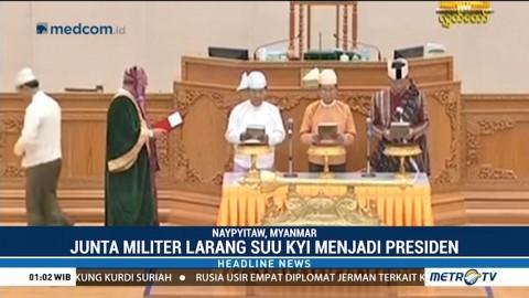 Presiden Baru Myanmar Sekutu Kuat Aung San Suu Kyi