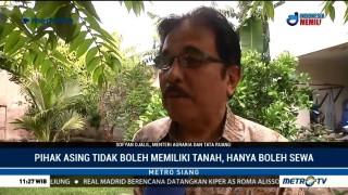 Menteri Agraria Bantah 74 Persen Tanah Indonesia Dikuasai Asing