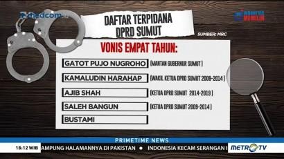 Daftar Terpidana Kasus Suap DPRD Sumut