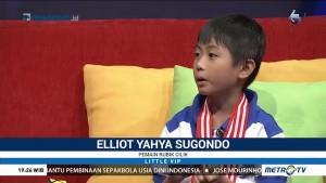 Baru Berumur 8 Tahun, Elliot Sudah Juarai Kompetisi Rubik Internasional