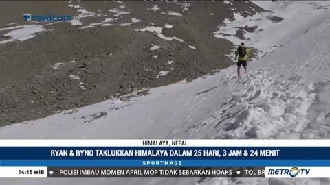 Dua Atlet Afrika Selatan Pecahkan Rekor Lari Lintas Alam Taklukkan Himalaya