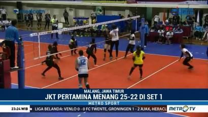 Tim Putri Bandung BJB Takluk oleh Jakarta Pertamina Energi