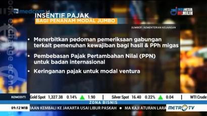 Insentif Pajak untuk Investasi Jumbo