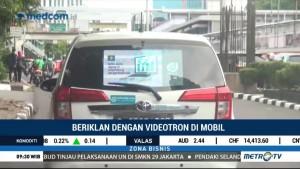 Beriklan dengan Videotron di Mobil