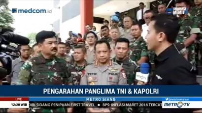 Panglima TNI dan Kapolri Beri Pengarahan ke 2.500 Prajurit se-Jawa Tengah