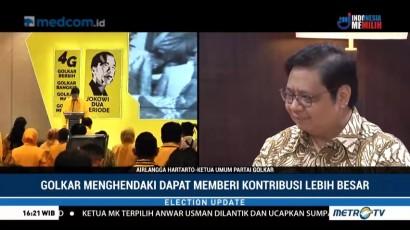 Kata Airlangga Hartarto Soal Cawapres Jokowi