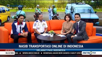 Nasib Transportasi Daring di Indonesia