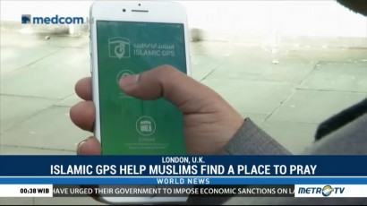 Islamic GPS Help Muslims Find a Place to Pray