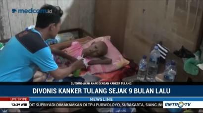 Ossy Berjuang Sembuh dari Kanker Tulang