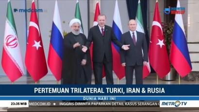 Pertemuan Presiden Turki, Iran & Rusia Bahas Suriah