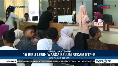 Belum Rekam KTP-el, 16 Ribu Warga di Jepara Terancam Kehilangan Hak Pilih