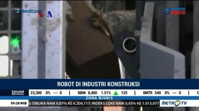 Robot di Industri Konstruksi
