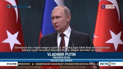 Bertemu Erdogan, Putin Angkat Bicara soal Kasus Sergei Skripal