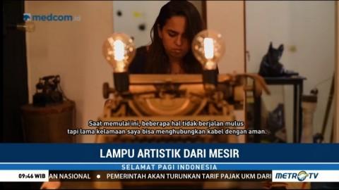 Lampu Artistik dari Mesir