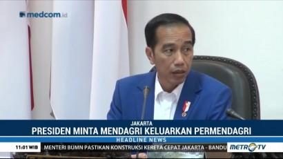 Jokowi Dorong Kemendagri Percepat Pelayanan KTP-el