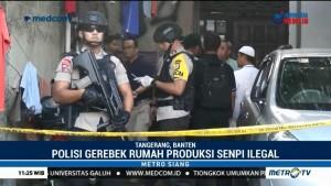 Polisi Gerebek Rumah Perakitan Senpi Ilegal di Tangerang