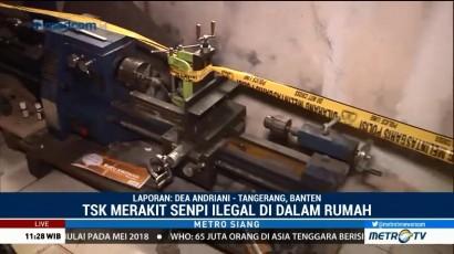 Begini Lokasi Perakitan Senpi Ilegal di Tangerang