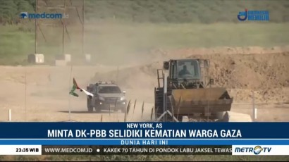 Palestina Minta DK PBB Lindungi Warganya