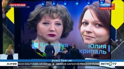 Stasiun TV Rusia Rilis Rekaman Percakapan Putri Agen Skripal
