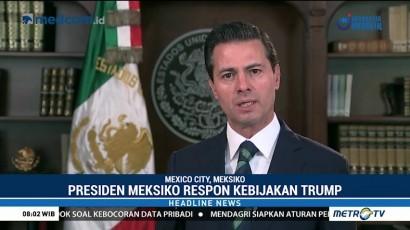 Meksiko akan Bernegosiasi dengan AS Soal Pengamanan Perbatasan
