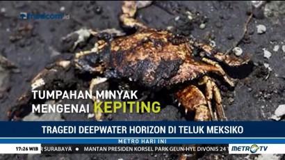 Deepwater Horizon, Tumpahan Minyak Terbesar Sepanjang Sejarah