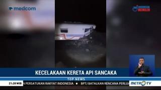 KA Sancaka Yogya-Surabaya Kecelakaan di Ngawi