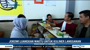 Aktivitas Akhir Pekan Jokowi
