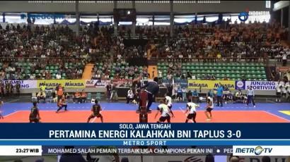 Jakarta Pertamina Energi Menang 3-0 atas Jakarta BNI Taplus