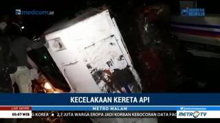 Dua Korban Tewas Kecelakaan KA Sancaka Dievakuasi ke RS Ngawi