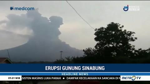Pascaerupsi, Aktivitas Seismik Gunung Sinabung Masih Fluktuatif