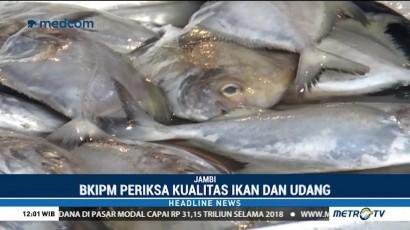 BKIPM Jambi Periksa Kualitas Ikan di Pasar Tradisional