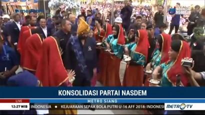 5 Ribu Kader Hadiri Konsolidasi Partai NasDem se-Sulawesi Tengah
