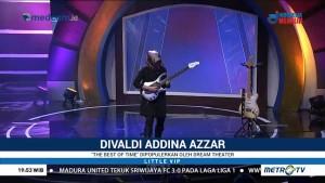 Aksi Gitaris Cilik Divaldi Addina Azzar di Panggung Little VIP