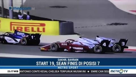 Sean Gelael Tampil Impresif di Feature Race F2 Bahrain