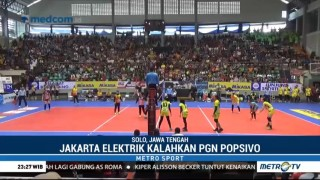 Tekuk Popsivo, Jakarta Elektrik Kunci Posisi Ketiga