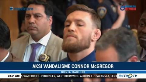 Aksi Vandalisme Conor McGregor