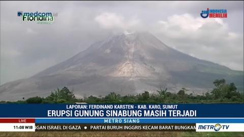 PVMBG: Aktivitas Gunung Sinabung Masih Tinggi