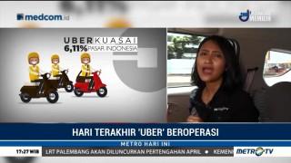 Hari Terakhir Uber Beroperasi