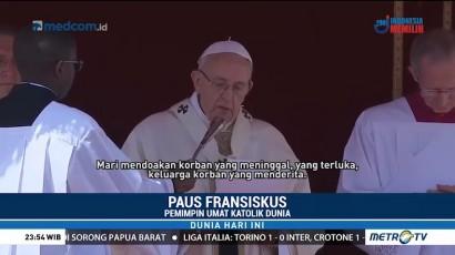 Paus Fransiskus Ajak Umat Katolik Doakan Korban Serangan Gas Douma