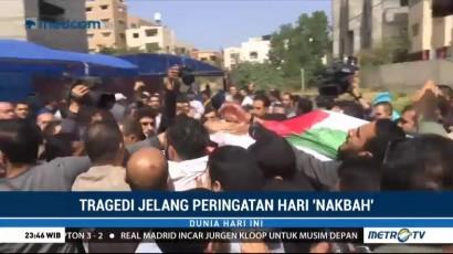 Jasad Jurnalis Palestina yang Ditembak Tentara Israel Dimakamkan