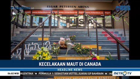 14 Anggota Tim Hoki Kanada Tewas dalam Kecelakaan Maut
